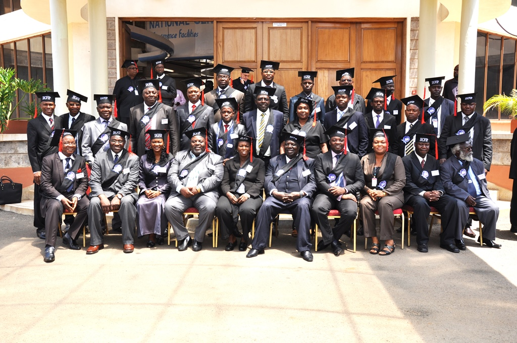 Convocation of CFIPs (Certified Forensic Investigation Professionals) from 16 Countries in Nairobi in 2014