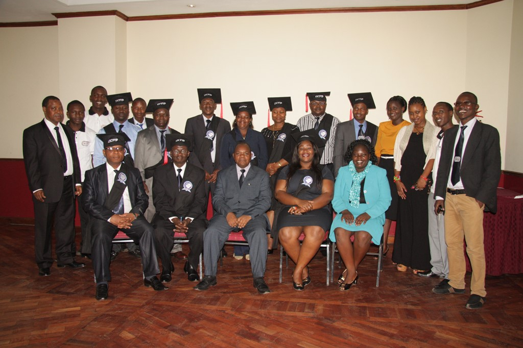 Convocation of CFIPs ( Certified Forensic Investigation Professionals) in Nairobi in 2016